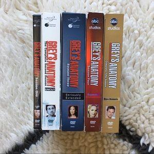 Grey's Anatomy Seasons 1-5